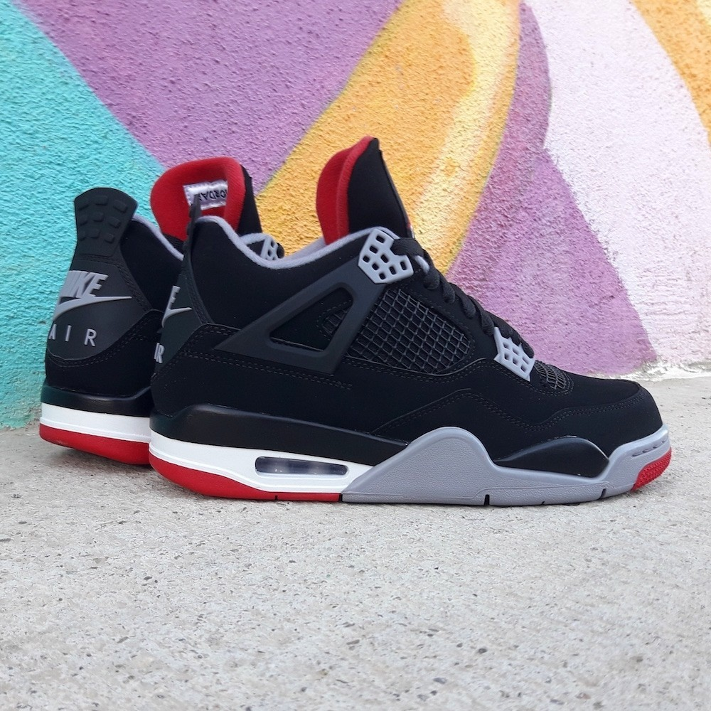 Air Jordan 4 Retro Bred...