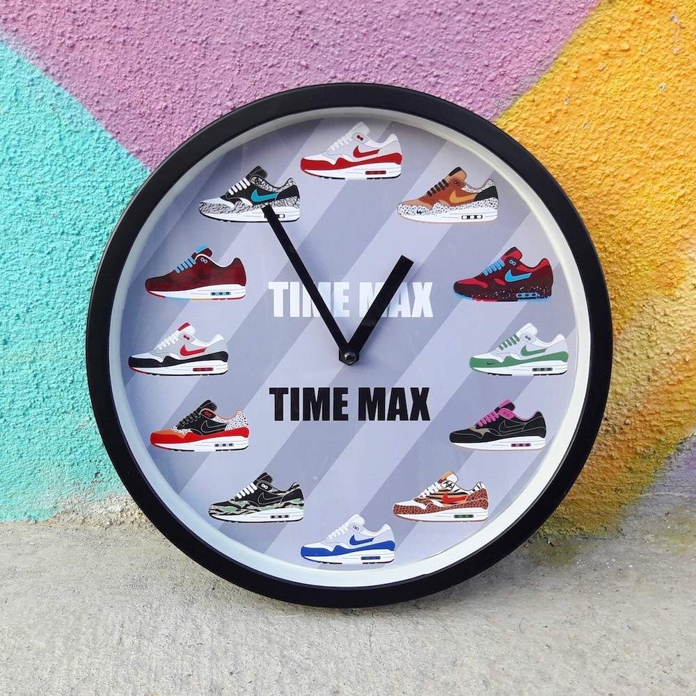 Wall Clock Time Air Max 1...