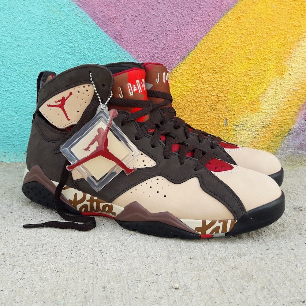Air Jordan 7 Retro x Patta Shimmer AT3375 200