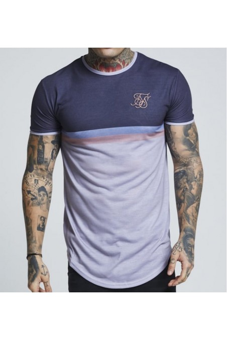 Camiseta Sik Silk Curved...