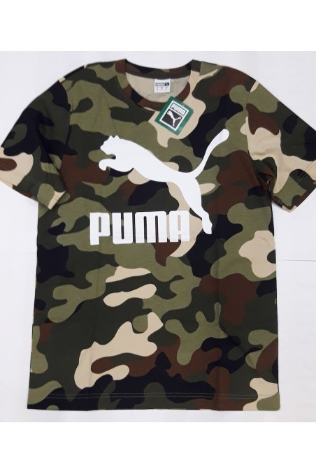 Camiseta Puma Camo Wild...