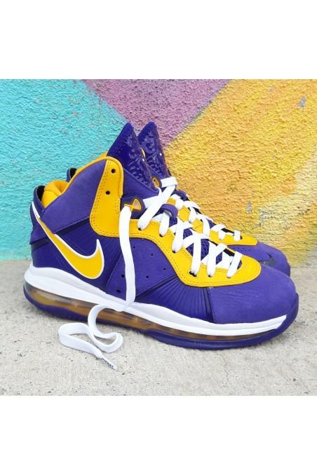 Nike Lebron 8 QS Lakers GS...
