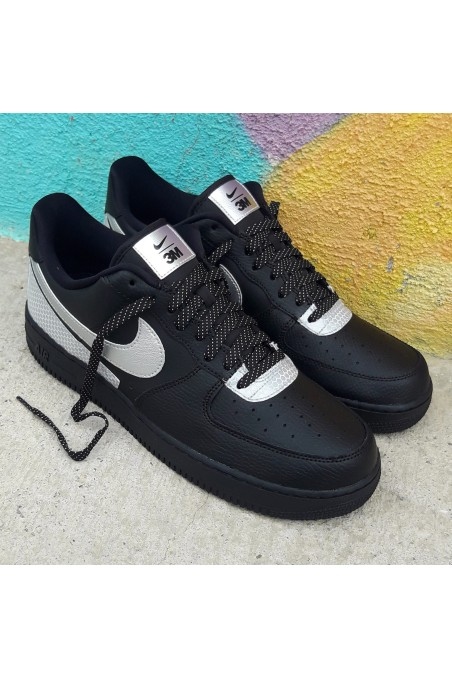 Nike Air Force 1 3M Black...