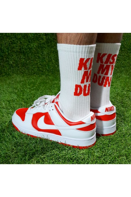 Calcetines Kiss My Dunk Red...
