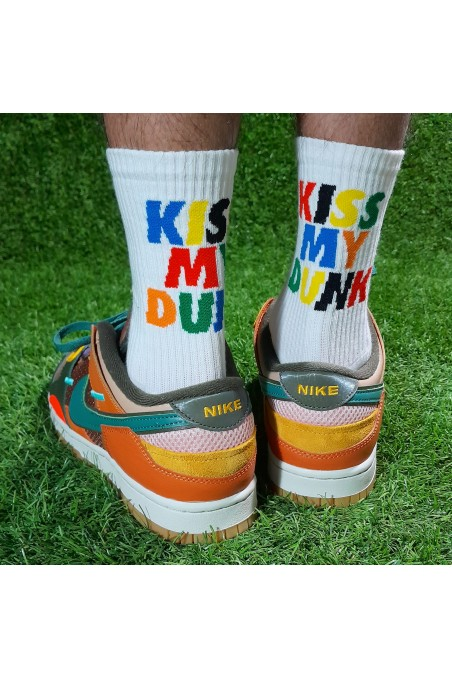 Calcetines Kiss My Dunk...